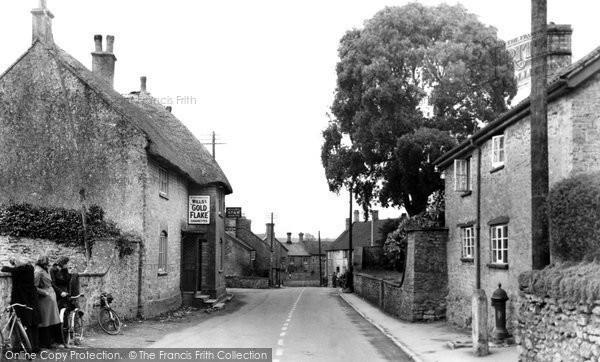 Haselbury Plucknett, the Street c1955