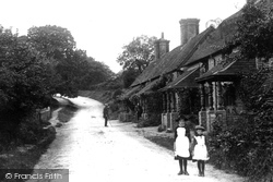 Haslemere, Almshouses, Petworth Road 1888