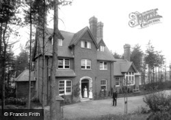 Haslemere, Cottage Hospital 1899