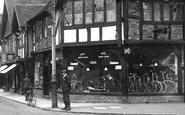 Haslemere, Cycle Shop 1931