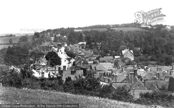 Haslemere, from Recreation Ground 1902