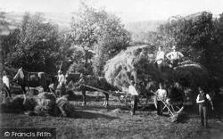 Haslemere, Haymaking, Longdene 1888