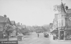 Haslemere, High Street 1913