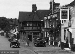 Haslemere, High Street 1927