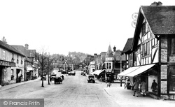 Haslemere, High Street 1931