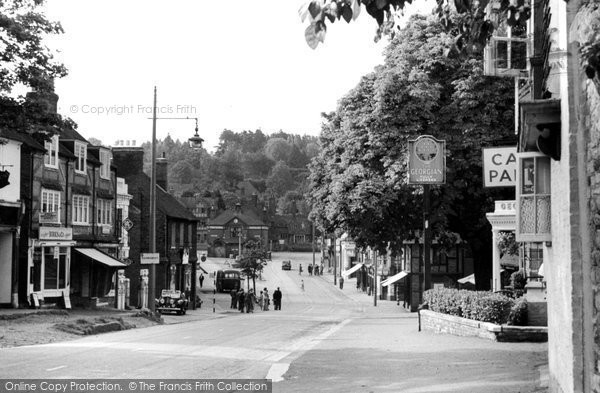 Photo of Haslemere, High Street c.1955