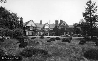 Haslemere, Hilders Military Hospital 1915