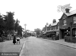 Haslemere, Lion Lane 1921