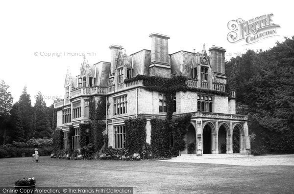 Photo of Haslemere, Lord Tennysons 'aldworth' 1899