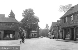 Haslemere, Petworth Road c.1955