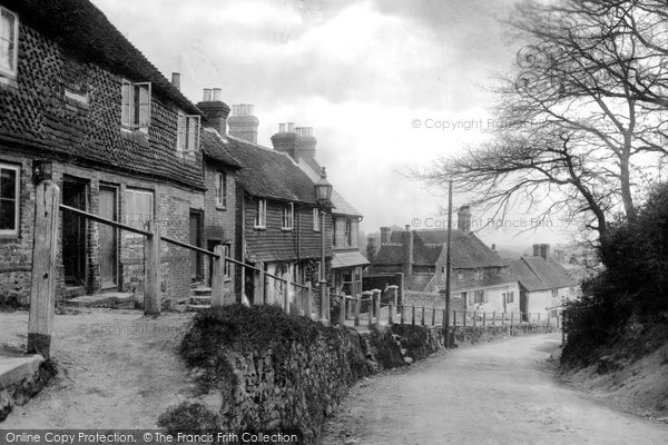 Haslemere, Shepherds Street, 1899  Reproduced courtesy of The Francis Frith Collection