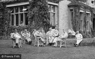 Haslemere, Soldiers, Church Hill Military Hospital 1917