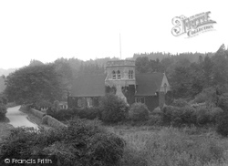 St Christopher's Church 1925, Haslemere