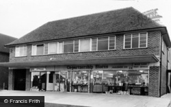 Haslemere, The Stores And Post Office c.1960