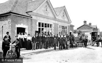 Haslemere, West Street Post Office c1906