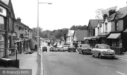 Haslemere, Wey Hill c.1965