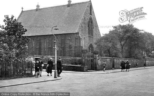 Haslingden, Catholic Church, Bury Road c.1950