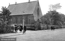 Catholic Church, Bury Road c.1950, Haslingden