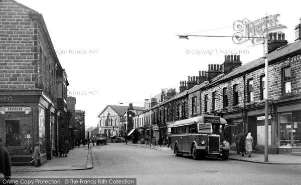 Photo of Haslingden, Manchester Road c1955