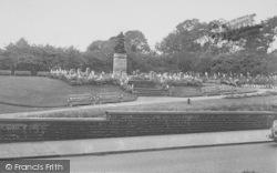 Memorial Gardens c.1953, Haslingden