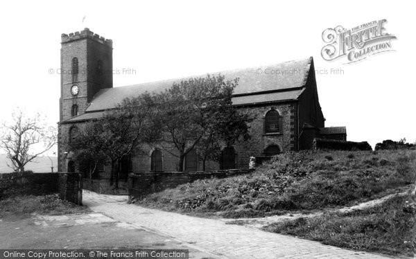 Photo of Haslingden, St James' Church c.1955