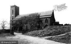 St James' Church c.1955, Haslingden