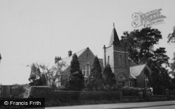Haslington, Crewe Green Church c.1960
