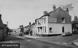 Haslington, Crewe Road c.1960