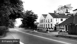 Haslington, Main Road c.1960