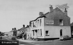 Haslington, The Broughton Arms, Crewe Road c.1960