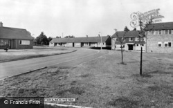 Haslington, The Flatlets c.1960