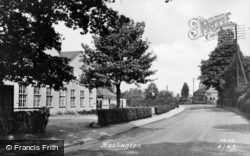 Haslington, The Villae c.1955