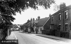 Haslington, The Village c.1955