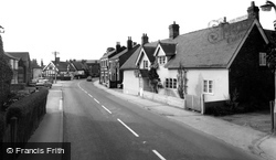 Haslington, The Village c.1960