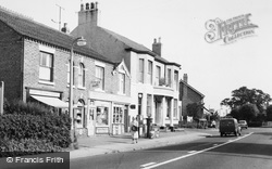 Haslington, The Village Shop c.1960