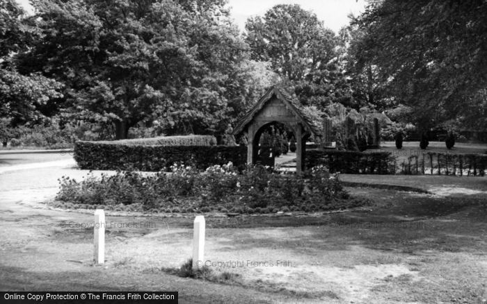 Photo of Hassocks, Adastra Park Garden Of Remembrance c.1955