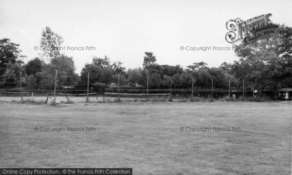 Photo of Hassocks, Adastra Park Tennis Courts c.1955