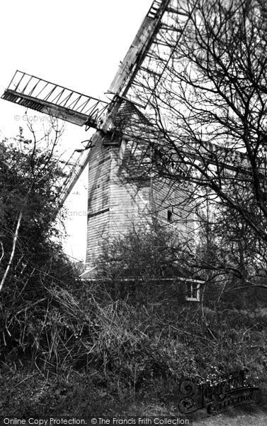 Photo of Hassocks, Oldlands Mill c.1955