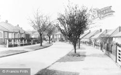 Hassocks, Queen's Drive c.1955