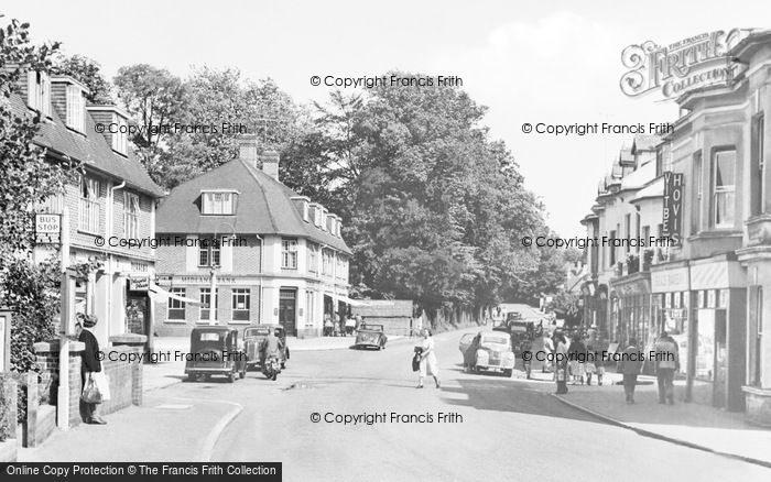 Photo of Hassocks, Station Road c.1955