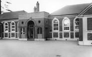 Hassocks, the School c1960