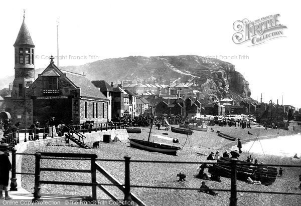 Photo of Hastings, Lifeboat Station 1890