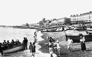 Hastings, the Beach 1925