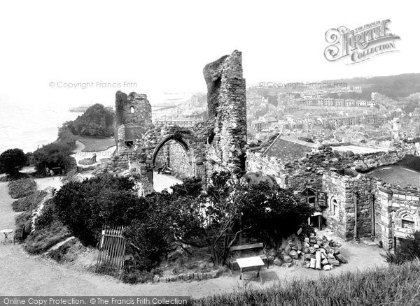 Hastings, the Castle 1925