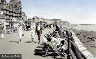 Hastings, the Promenade 1925