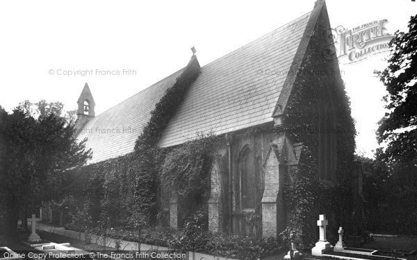 Photo of Hatchford, The Church 1904