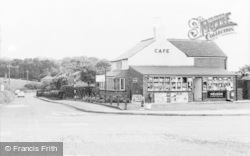 Hatchmere, Forest Cafe c.1955