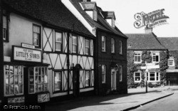 Little's Stores And Post Office c.1960, Hatfield Broad Oak