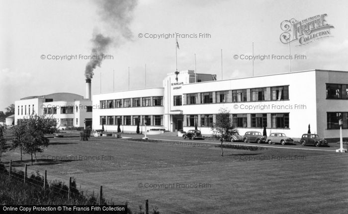 Photo of Hatfield, De Havilland Factory 1951