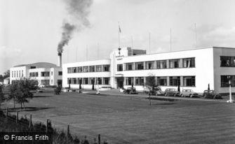 Hatfield, De Havilland Factory 1951